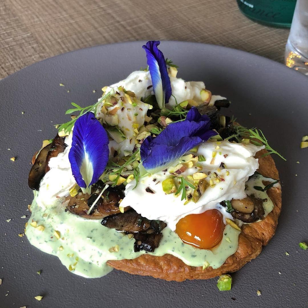 portobello mushroom tart summerhouse garden dome restaurant