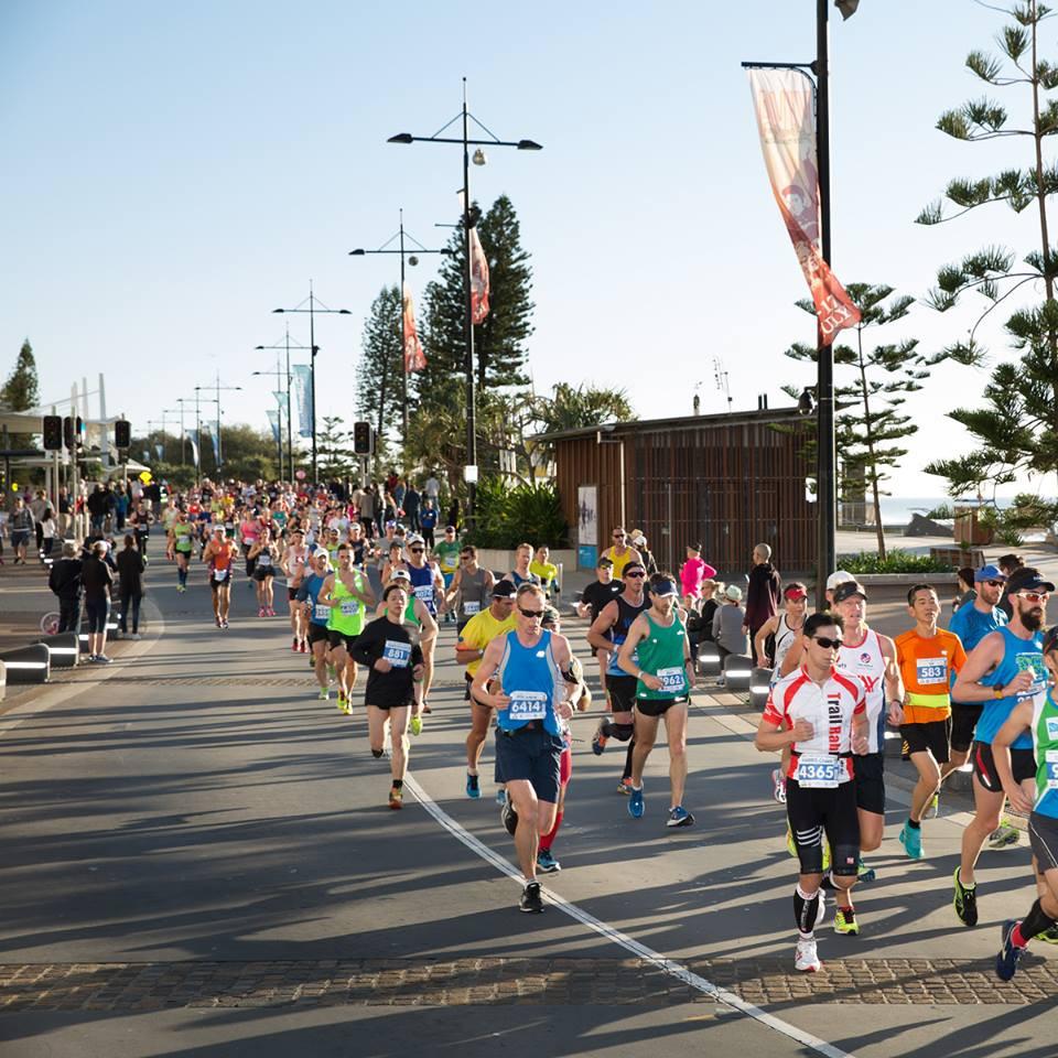 gold coast marathon finish line