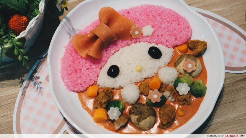 curry at My Melody Cafe