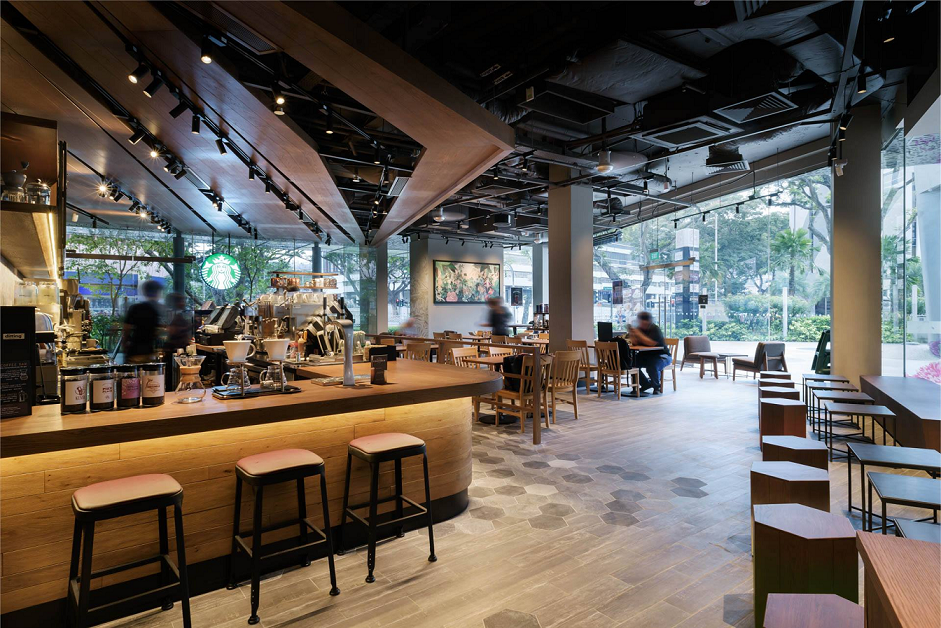 prettiest starbucks singapore outlets kinex mall floral