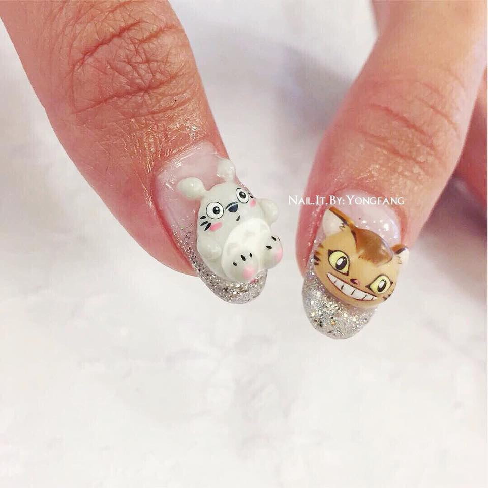 Totoro stick-ons