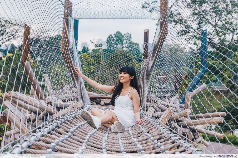 Forest Ramble playground Lakeside Garden