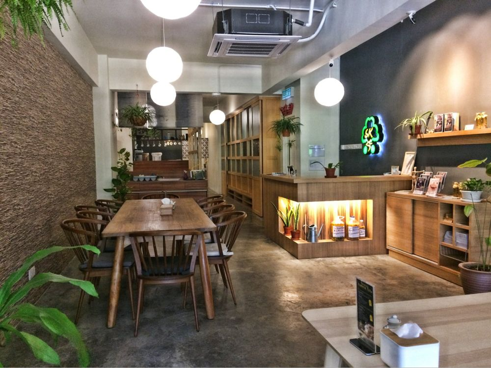 Interior of Sushi Kitchen KL