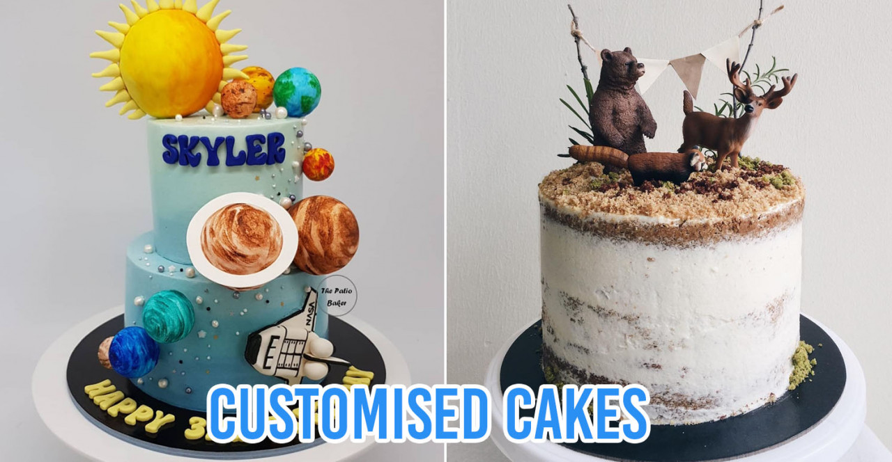 10 Home Bakers In Singapore For Customised Birthday Cakes