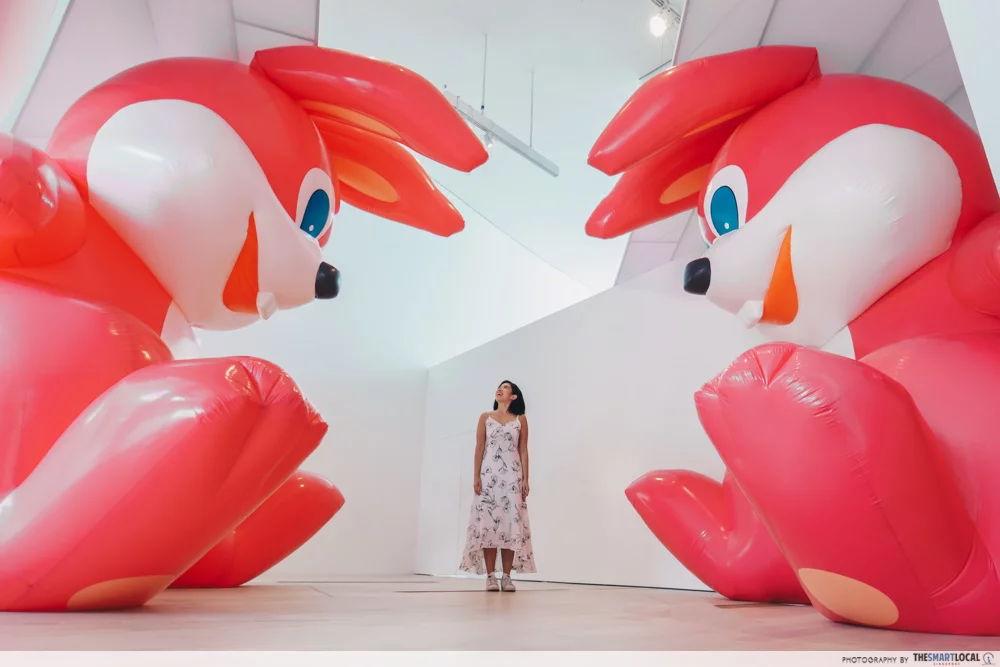 Floating Utopias ArtScience Museum