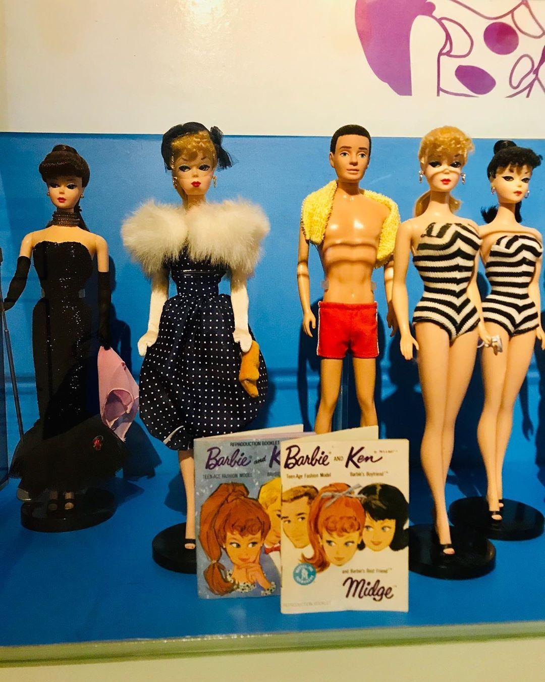 Barbie exhibition MINT Museum