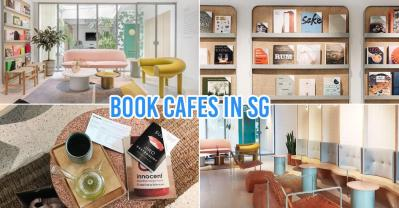 Book Cafes in Singapore