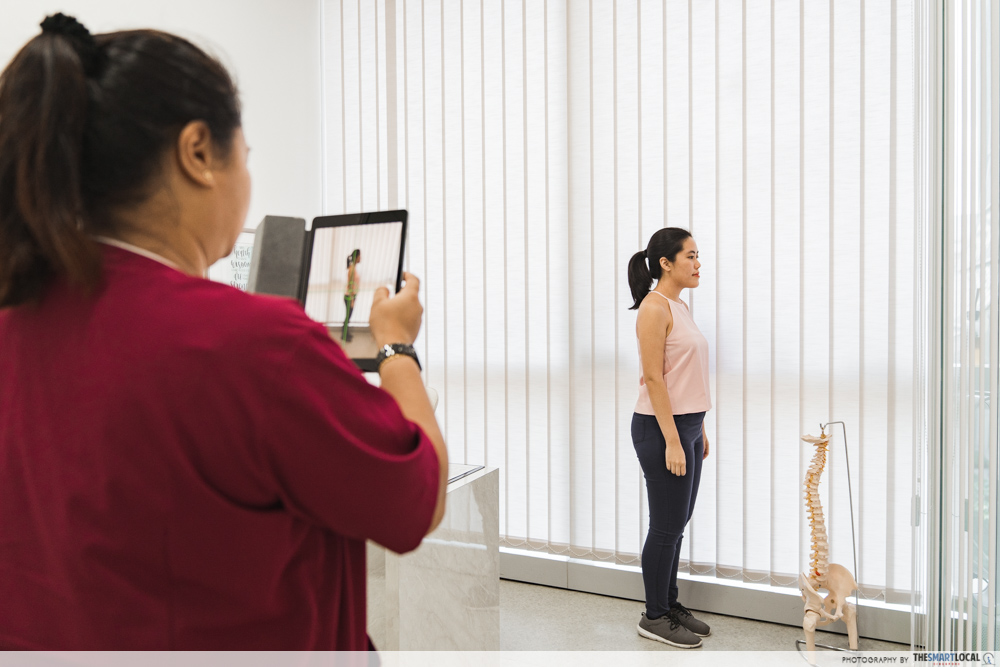 Macquarie Chiropractic Clinic Singapore Spinal Adjustment Postural Analysis
