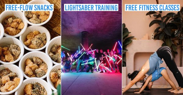 HarbourFront Centre Has Free Yoga, Glow-In-The-Dark Workouts & Free-Flow Snacks From 3-5 August