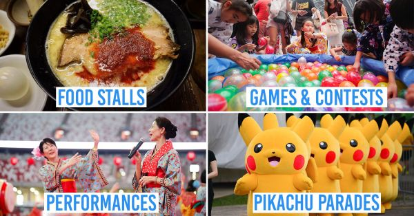 Japan Summer Festival 2019 Is Like Mini-Japan With Yukata Dress-Up Booths, Pikachu Parades & Authentic F&B