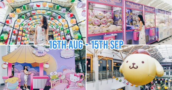 Jurong Point Has A Sanrio Themed Mid-Autumn Festival With Huge Inflatables, Magical Moonlit Walk & Free Plushies