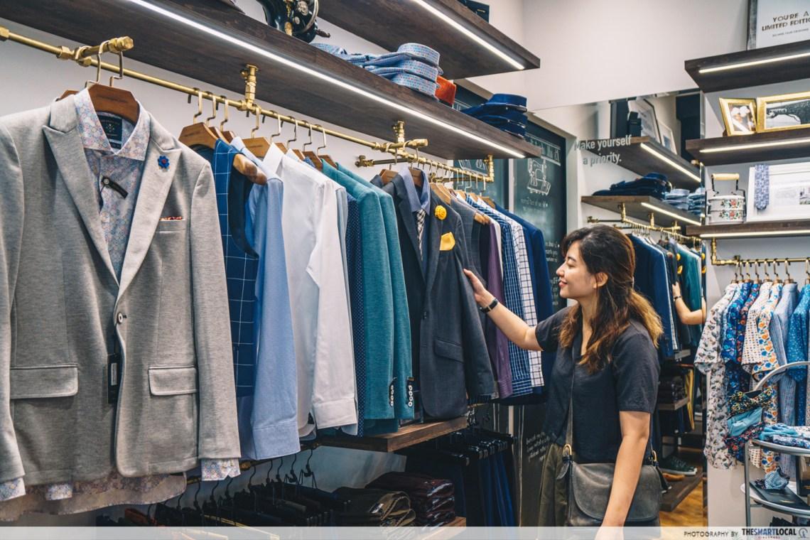 Jewel Changi - The Shirt Bar