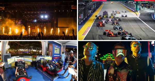 F1 Singapore 2019 Guide: Races, Activities & Concert Acts To Maximise Your Ticket