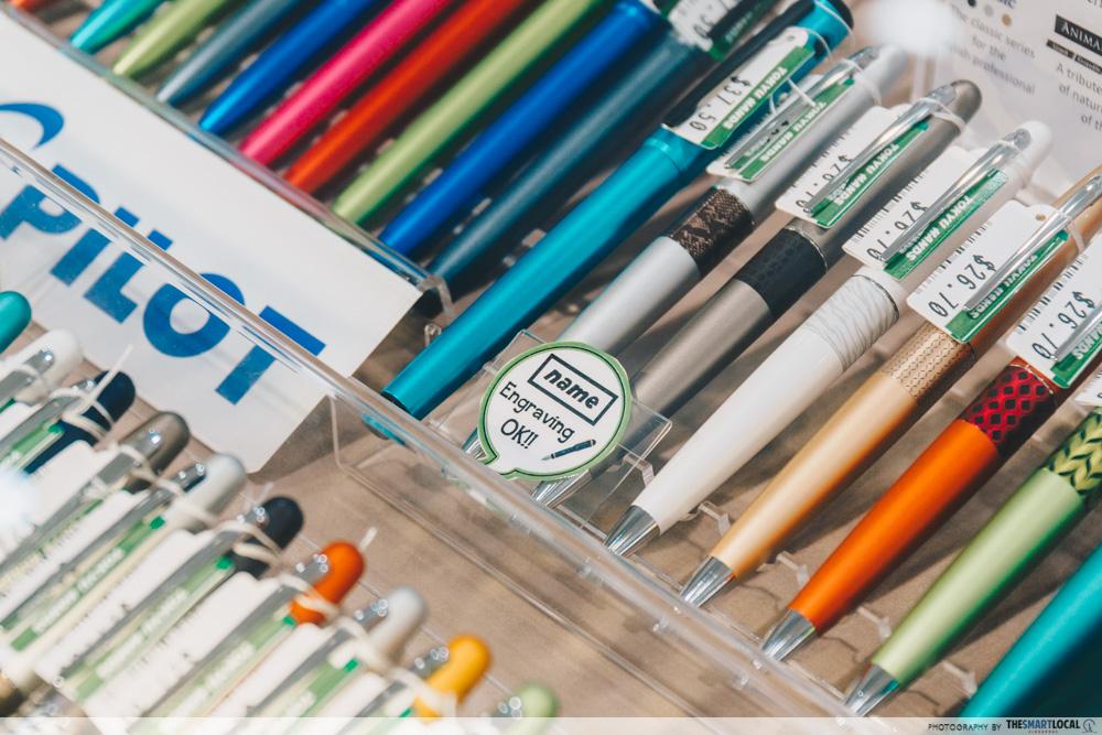 TOKYU HANDS PLQ Mall Pen Engraving