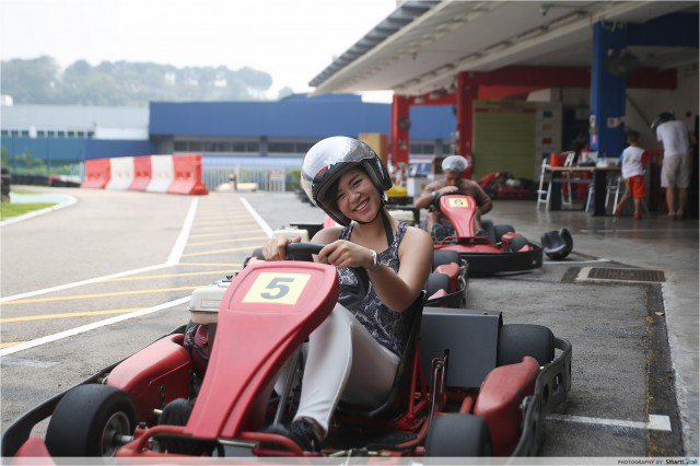 Unconventional Things To Do Singapore Go Kart Racing