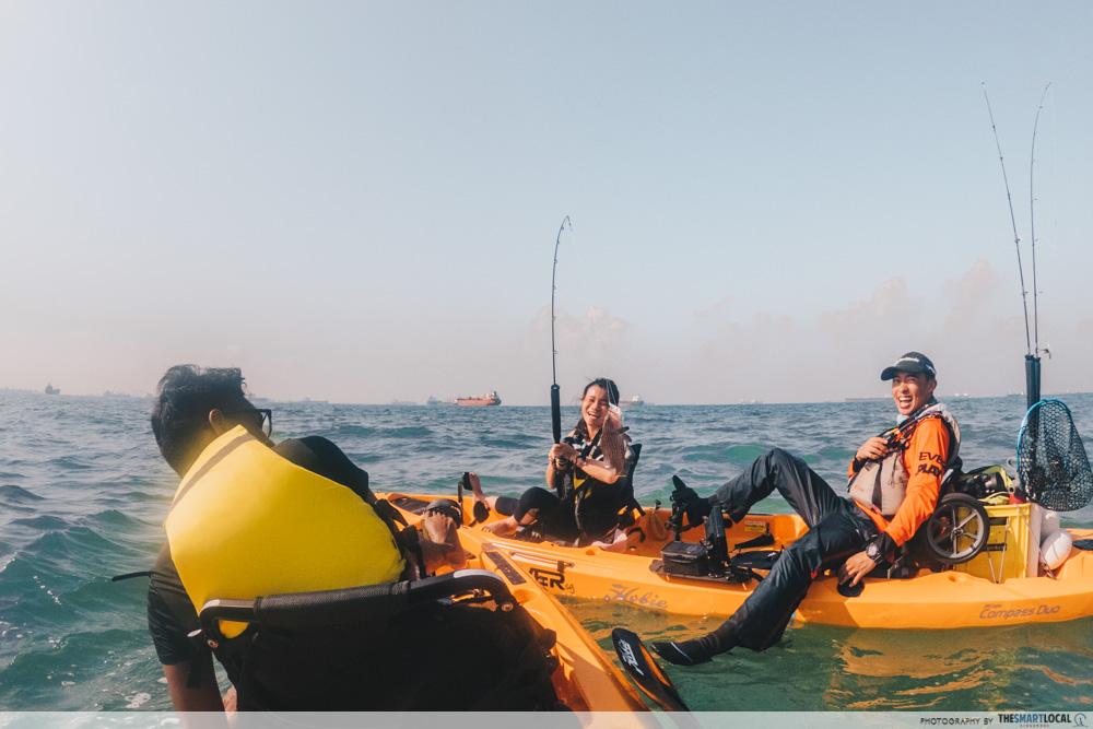 Unconventional Things To Do Singapore Kayak Fishing Tour