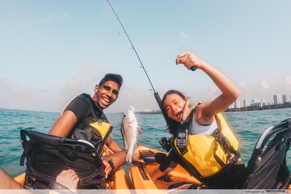 Unconventional Things To Do Singapore Kayak Fishing Fever
