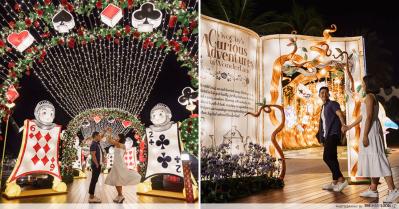 VivoCity Mid-Autumn 2019 Light-Up Alice in Wonderland TheSmartLocal