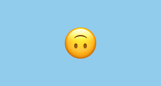 malay words - upside down emoji