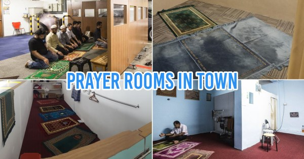 17 Prayer Rooms In Town For Muslims In Singapore To Conveniently Visit Before Hangouts With Friends