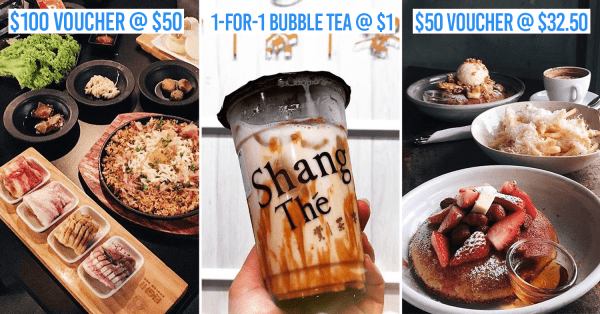 ChopeDeals Online Food Festival - Up To 75% Off Cafe Food, $1 Bubble Tea & 1-For-1 BBQ Buffets