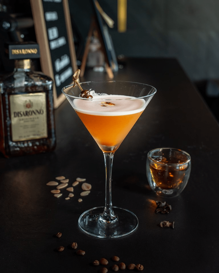 coffee cocktail and mocktail