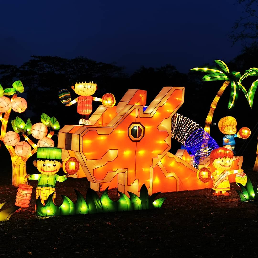 Mid-Autumn events Jurong Lake Gardens