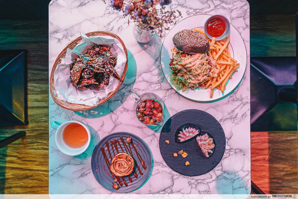 Neighbourhood Cafes Restaurants Singapore Hougang Wild Blooms Food