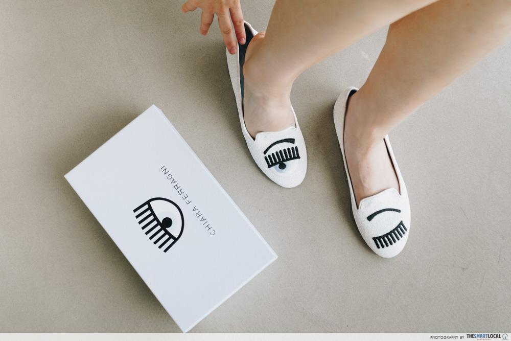 Reebonz Chiara Ferragni Flirting Slippers