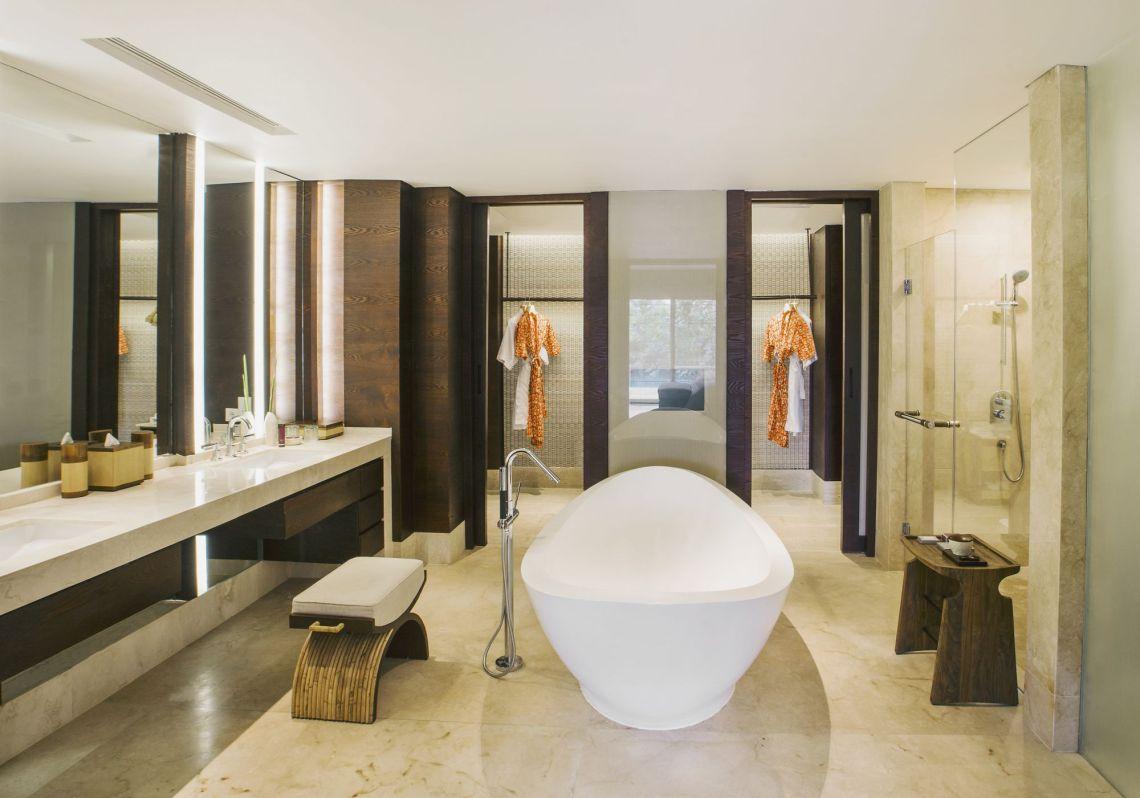 bali luxury hotels - the ritz-carlton bali bathroom