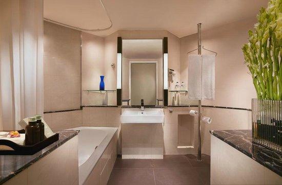 bali luxury hotels - hard rock hotel bali bathroom
