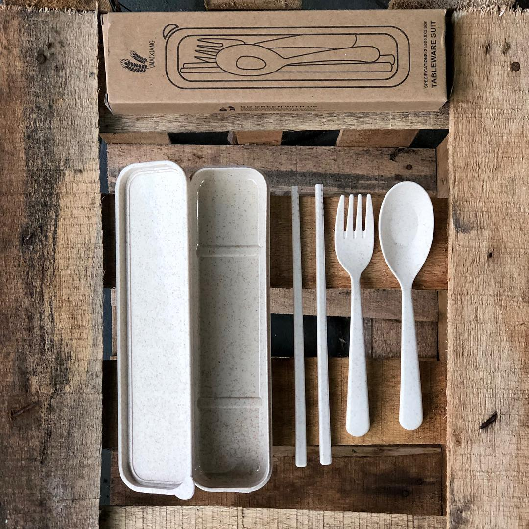 Wheat cutlery sets