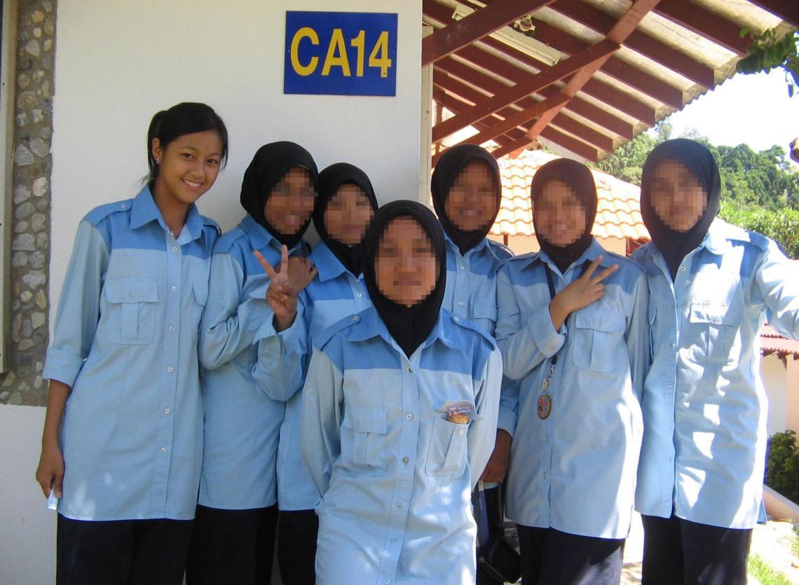 Classroom uniforms Malaysian NS
