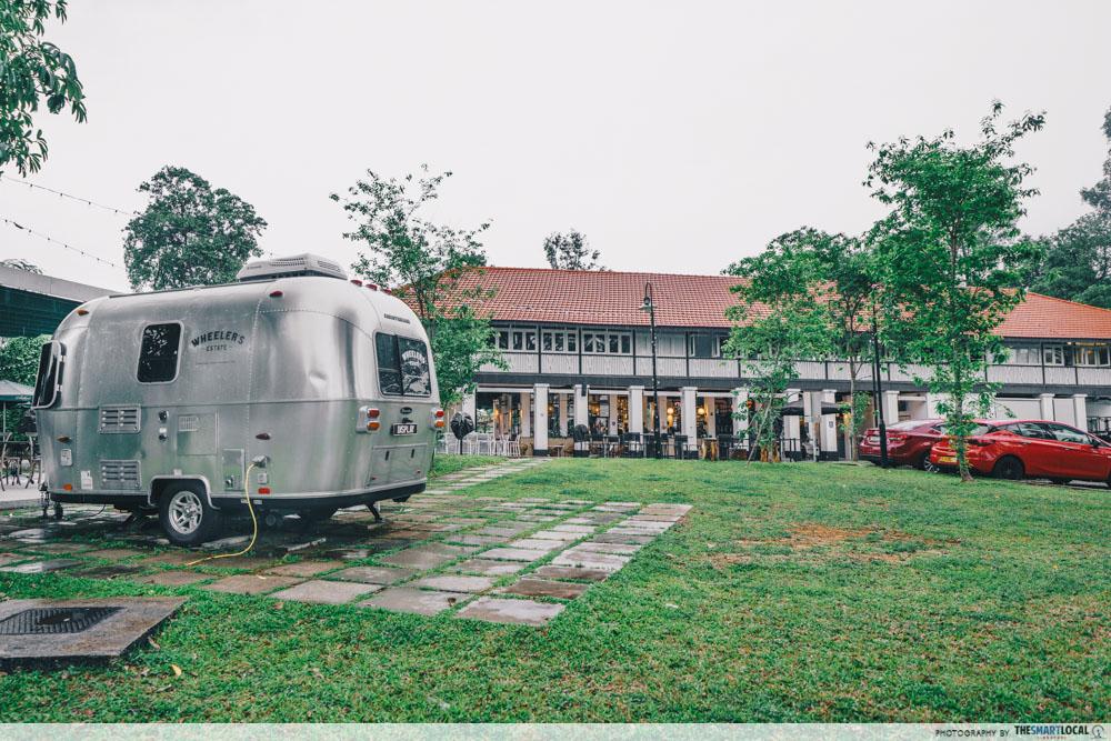 Wheeler's Estate Caravan Seletar Cafe Singapore