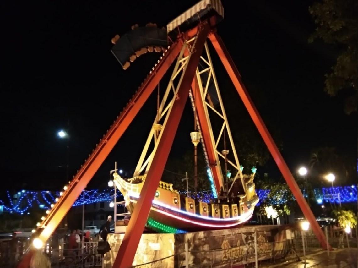 danga bay in jb - pirate ship at danga bay world theme park