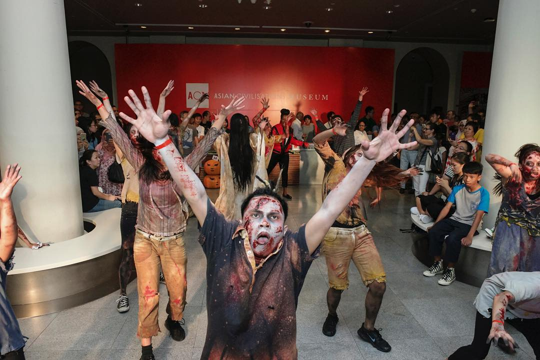 halloween events in singapore - acm after dark