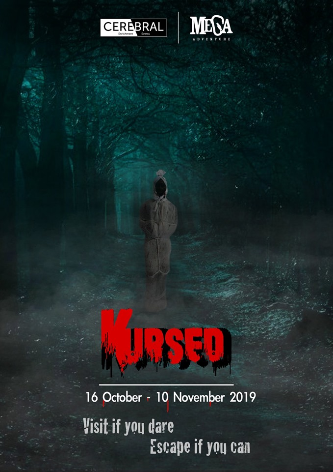 halloween events in singapore - kursed escape room