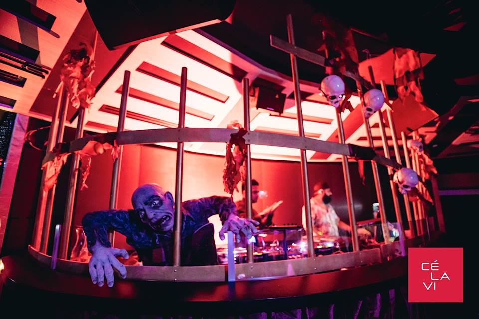 halloween events in singapore - dirty circus ce la vi