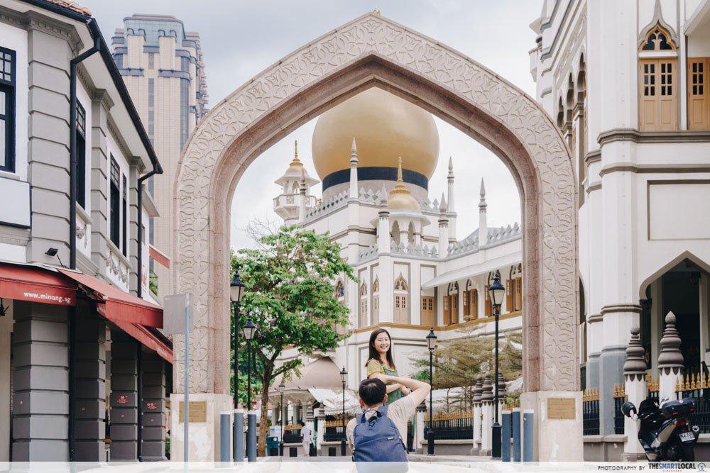 interesting singapore sites - masjid sultan