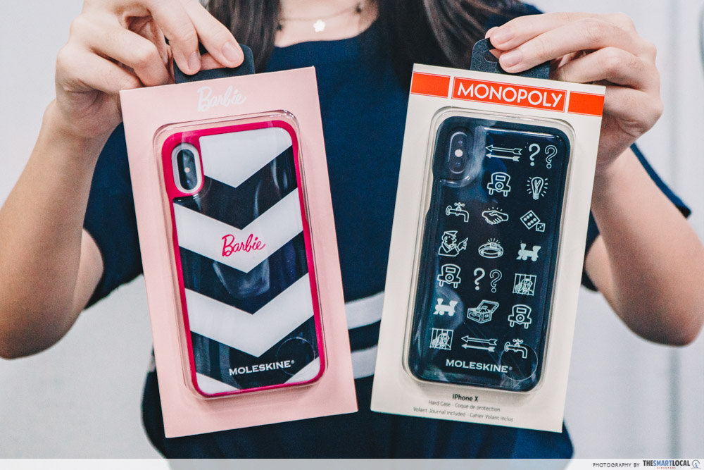 moleskine monopoly and barbie phone case