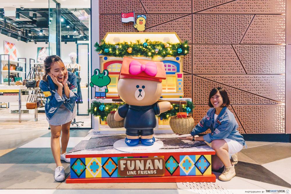 LINE FRIENDS in Singapore - Funan