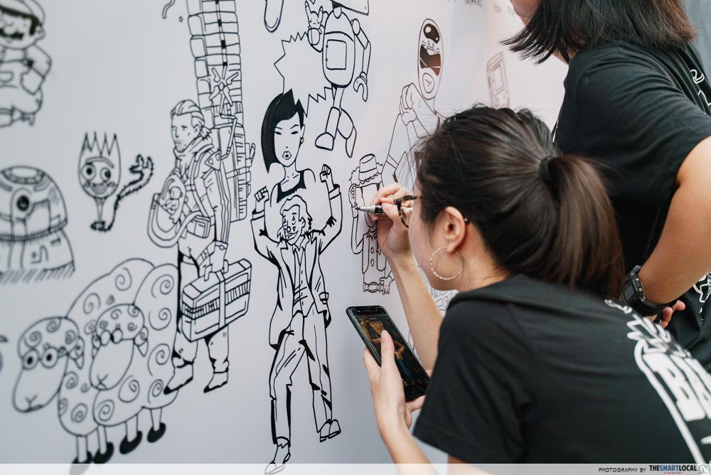 Band of Doodlers Singapore Media Festival 2019