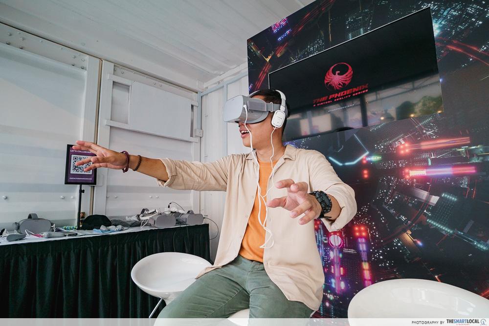 Singapore Media Festival 2019 VR Gaming