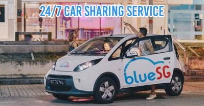 BlueSG Car Sharing Service
