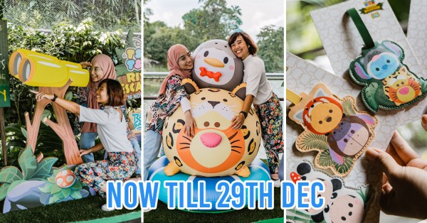 River Safari Is Now Disney Tsum Tsum-Themed With Photo Spots & Limited-Edition Prizes Up For Grabs
