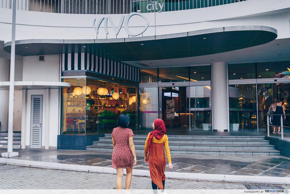 vivocity black friday sale 2019 - vivo city entrance