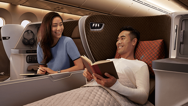 SIA business class