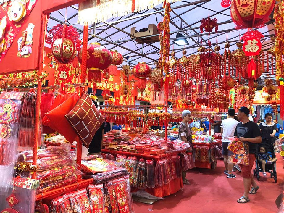 Jurong West Chinese New Year bazaar 2020