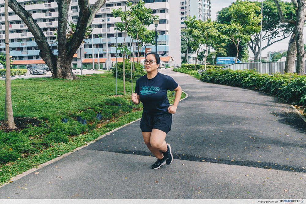 HPB exercise jogging