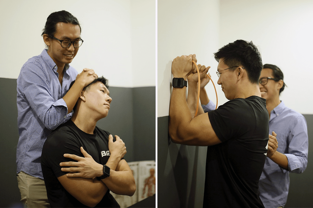 Square One Active Recovery Chiropractor Singapore